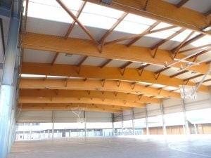 Estructuras de madera madergia - Cubiertas de madera laminada ...
