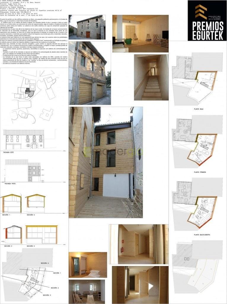 2 Casas Rurales en Ibero. BOA Arquitectos