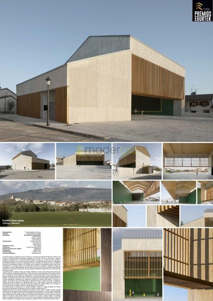 Frontón Gure Jokoa. OFS arquitectos