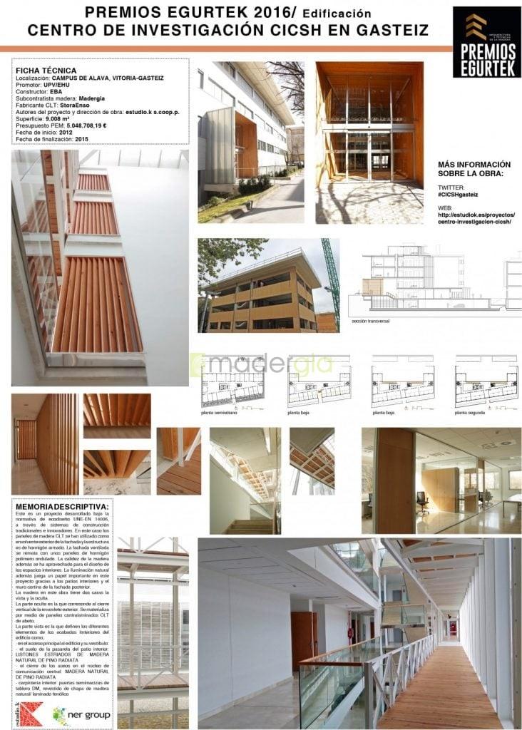 Cntro de Investigación CICSH en Gasteiz. estudio.k s.coop.p