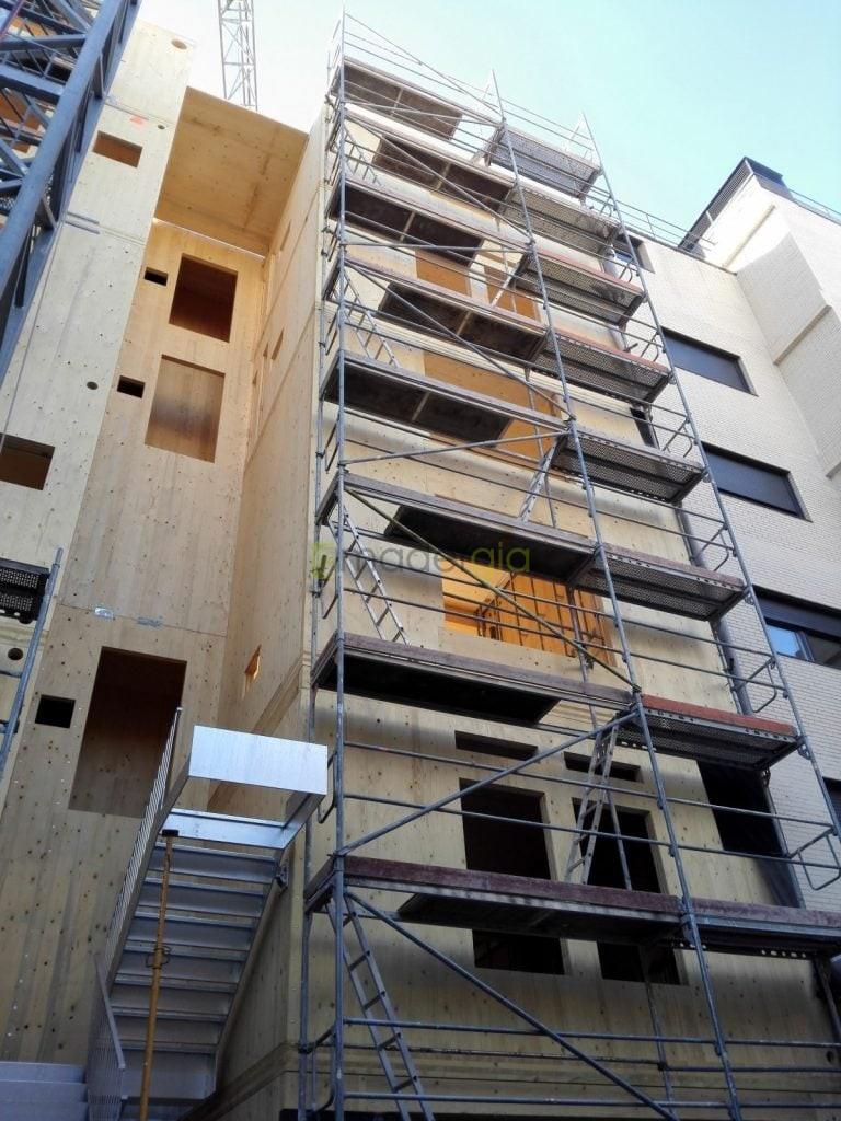 Edificio en Altura con Madera | Madergia