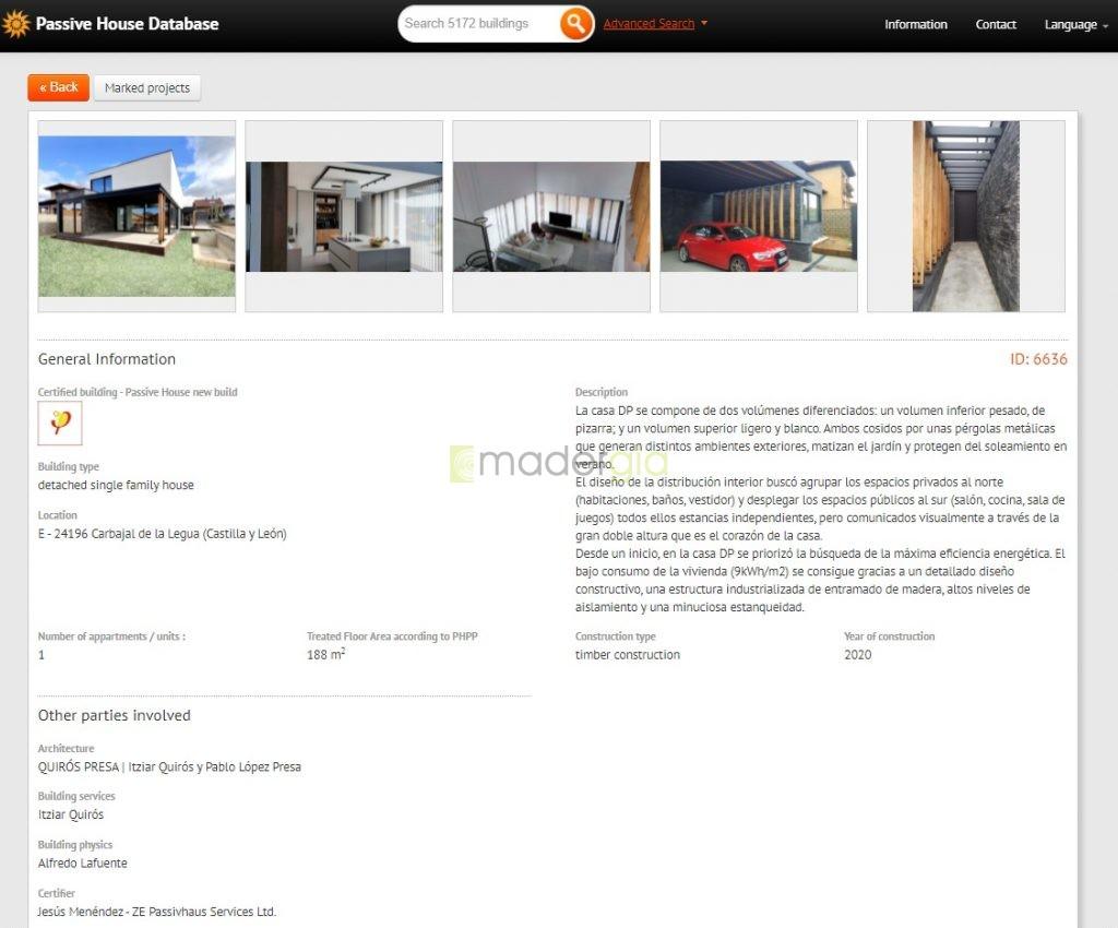 Passive House Database
